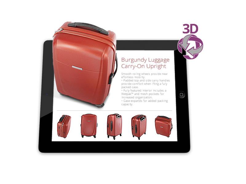 modélisation valise système 3d