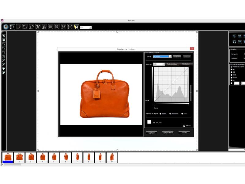 logiciel retouche photo d'objets packshot