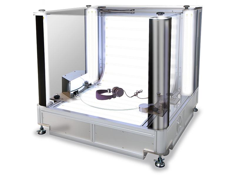 système photo packshot caisson lumineux