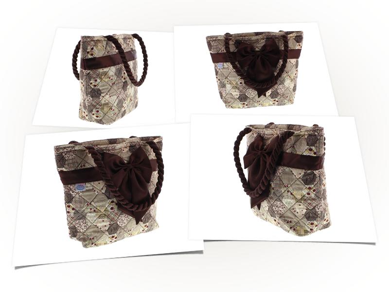 packshot 3D sac