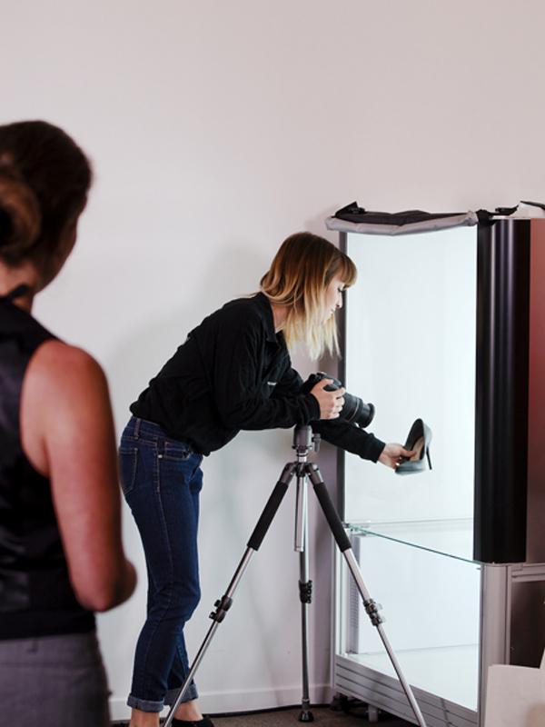 photos numériques d'objets en studio