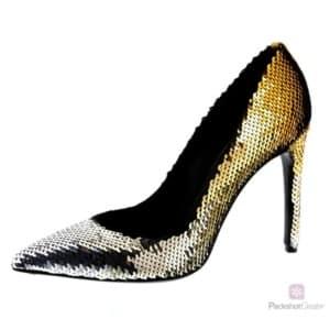detailliertes Foto eines Schuhs für einen Online-Shop