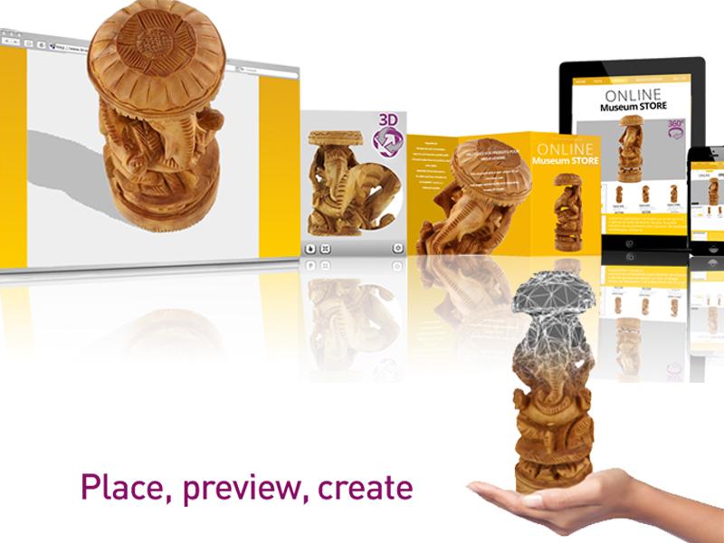 Créer un musée virtuel avec PackshotCreator