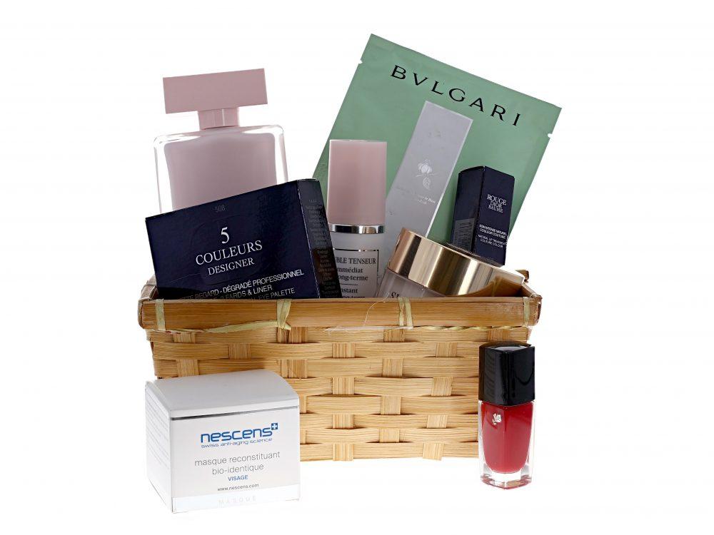 Photographier une box beauté cosmétique