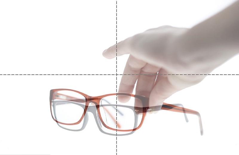 photographie packshot de lunettes en interne