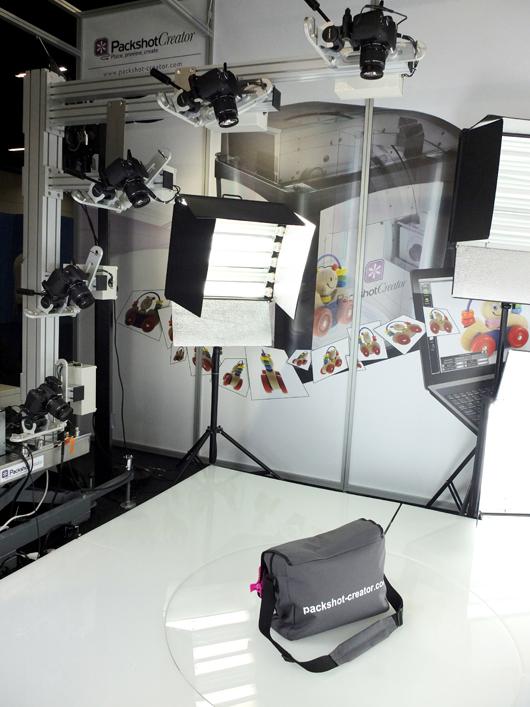 Shooting 3D de produits