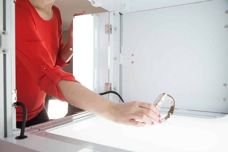 Système d'éclairage LED studio photo packshot