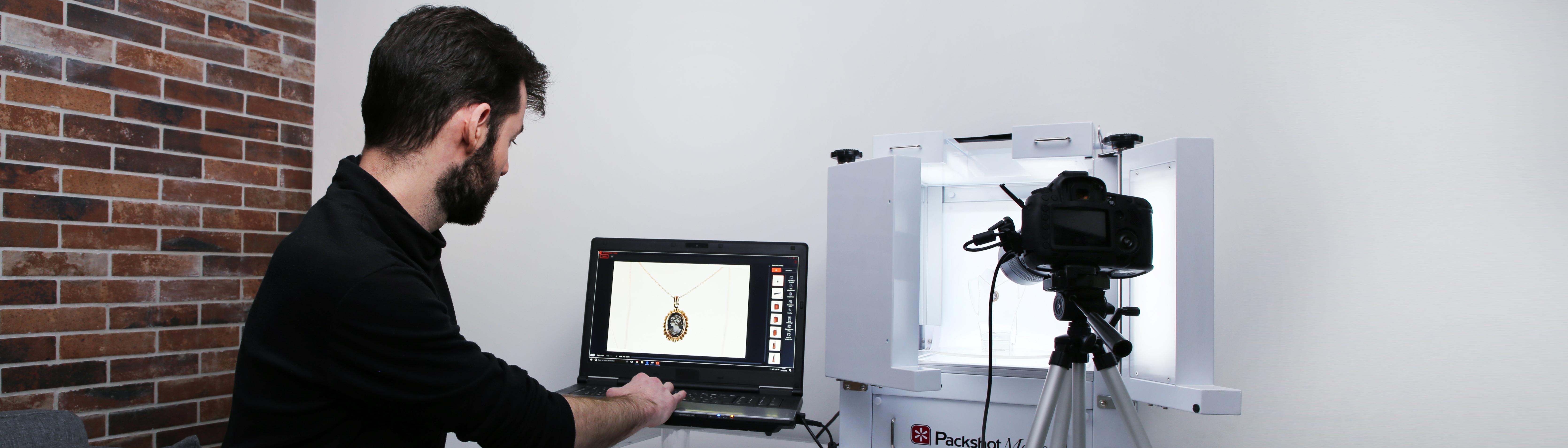 logiciel PackshotCreator photographies et animations de produits