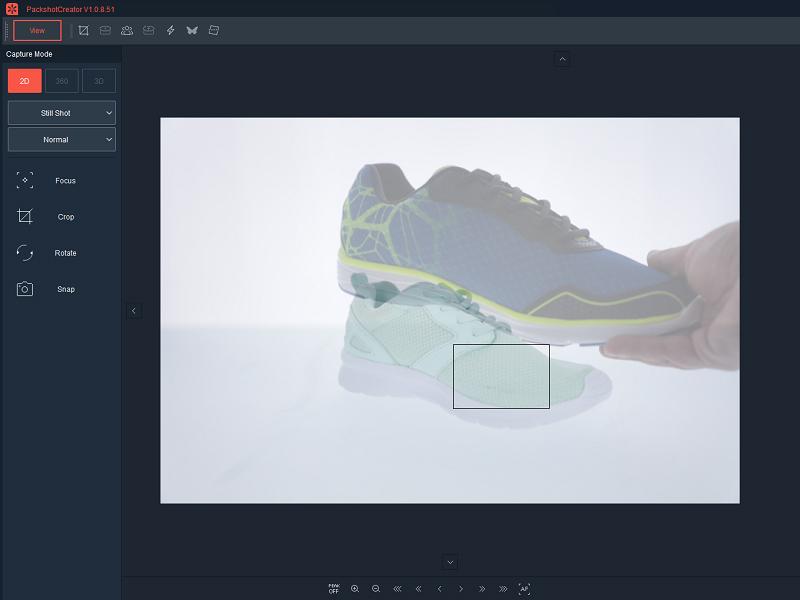 logiciel photo packshot système mémoire de position produit