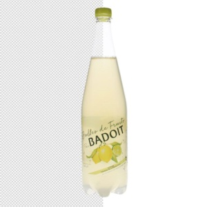 automask d'une photographie de bouteille