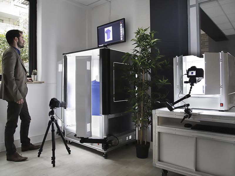 Solutions automatisées pour créer photos et animations à 360° de produits