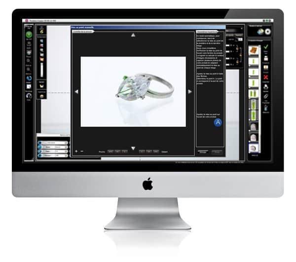 comment photographier des bijoux pour des sites web utilisant un logiciel?