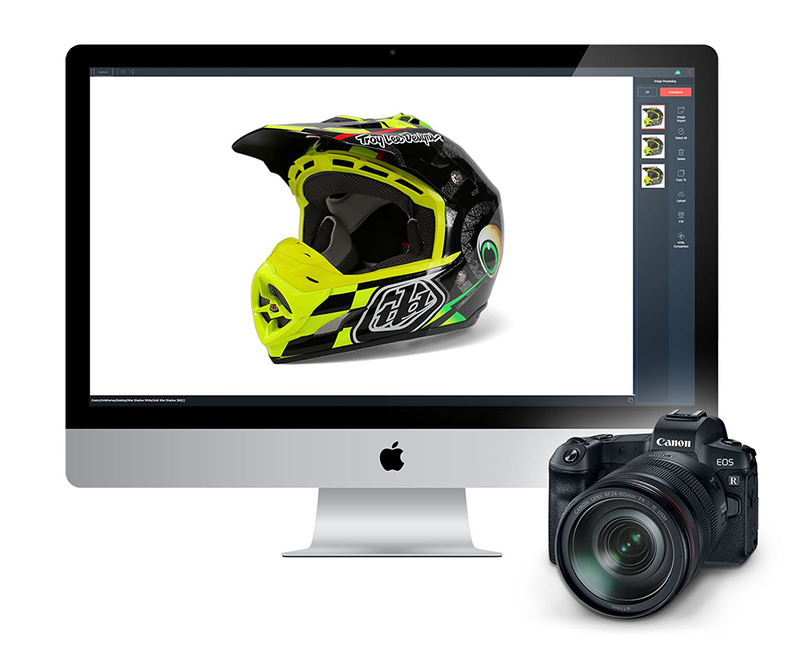 Compatibilité Canon avec le logiciel PackshotCreator