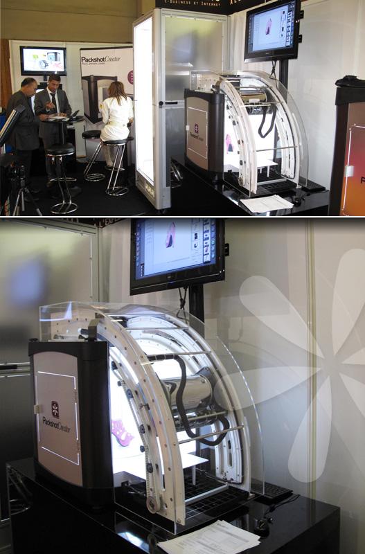 Photographier et animer des produits à 360°