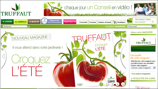 site internet de truffaut