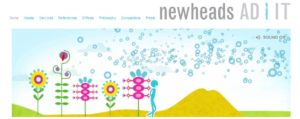 site de l'agence de presse newshead AD IT