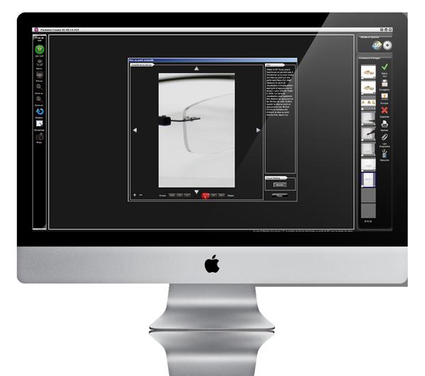 Photographier des montures détails avec Packshot