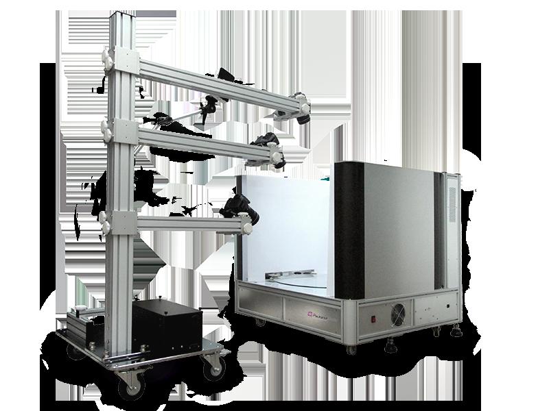 Modéliser des produits en 3D avec un studio Packshot 3D