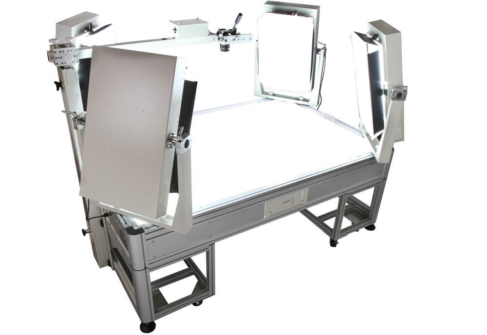 table lumineuse packshot digital