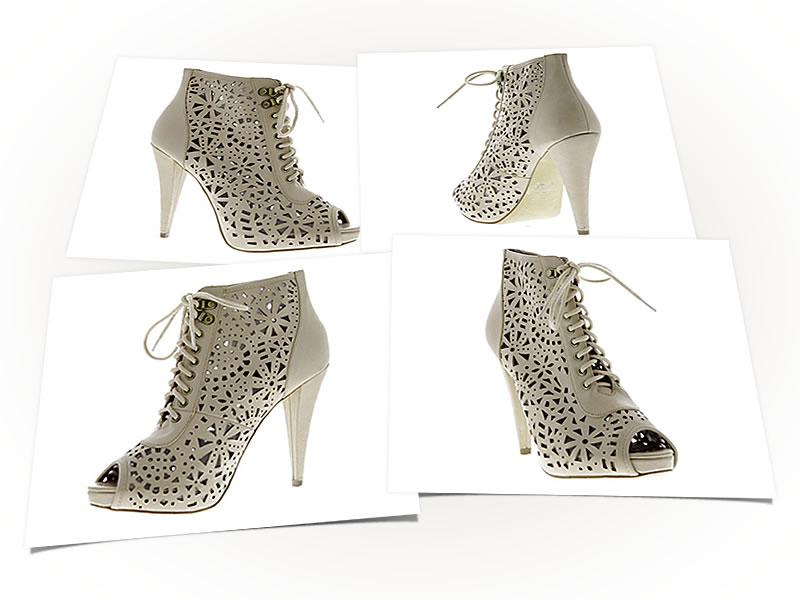Packshot 3D chaussure femme