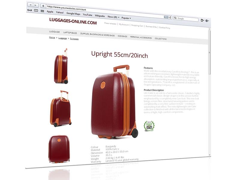 animation 3d site web