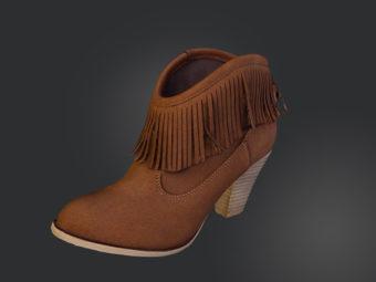 Chaussure 3D packshot