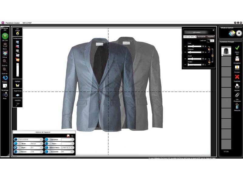 logiciel retouche photo packshot