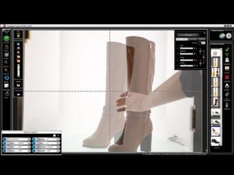 Installer un studio photo packshot pour photographier des chaussures