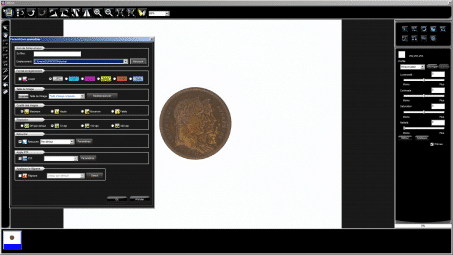 Logiciel photo d'export en multi-formats images