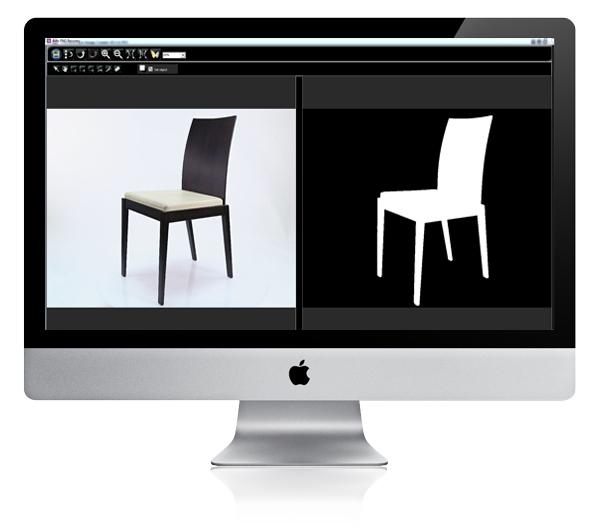 logiciel PackshotCreator pour photographe d'objets