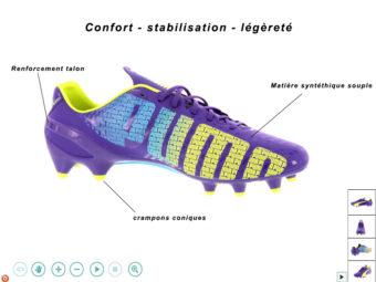 Créer une animation 360 de chaussures e-commerce