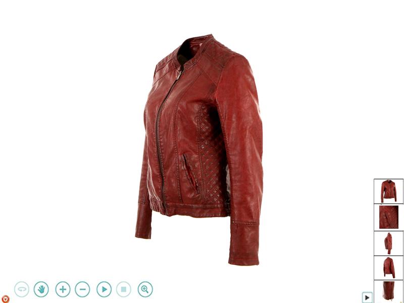 Packshot 360 vêtements mode sur mannequin