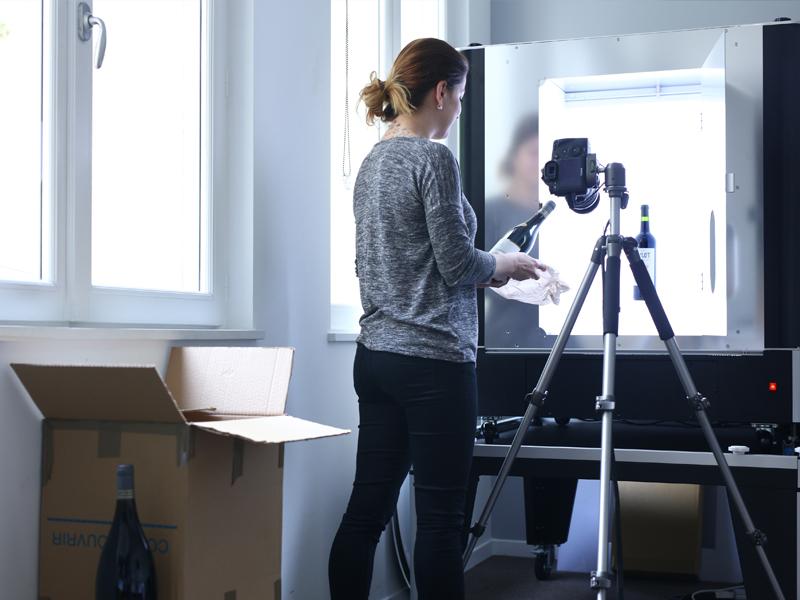Studio photo PackshotCreator vins & spiritueux