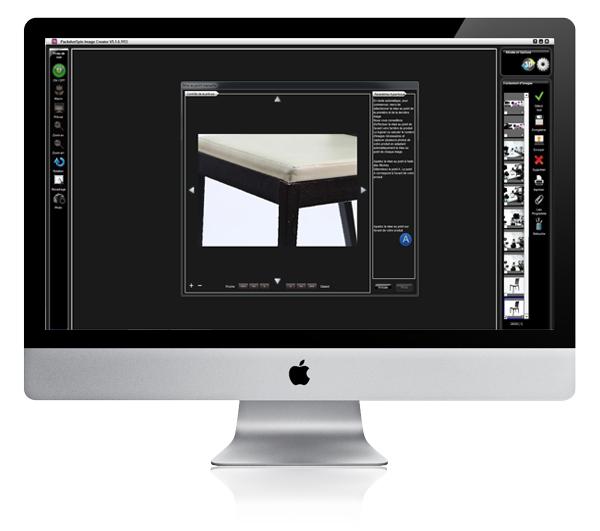 logiciel de retouche photographique pour objets