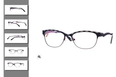 Photographie packshot multi-angle monture lunettes