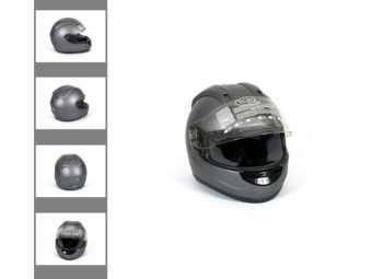 Photographie 360 packshot casque moto