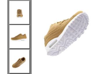 packshot 3D chaussures e-commerce