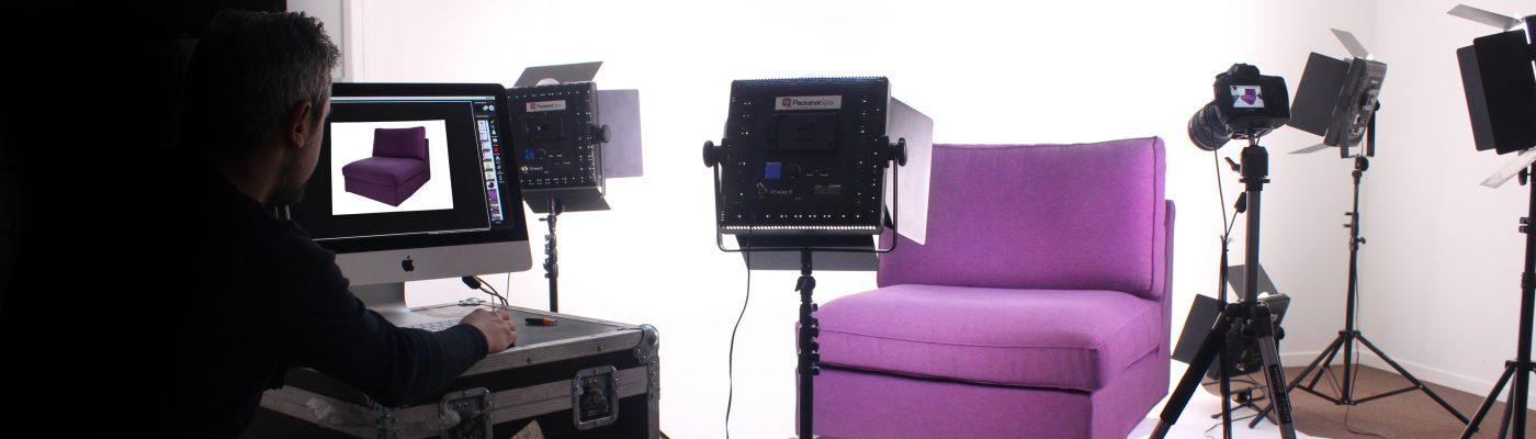 Photographier des meubles en studio