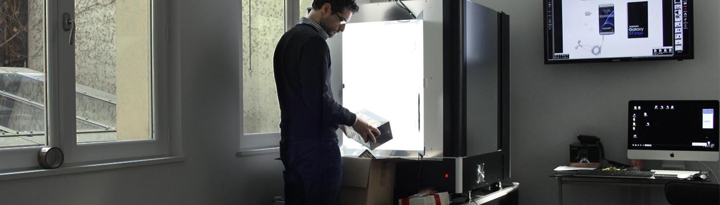 Photographier des produits high-tech pour e-commerce électronique