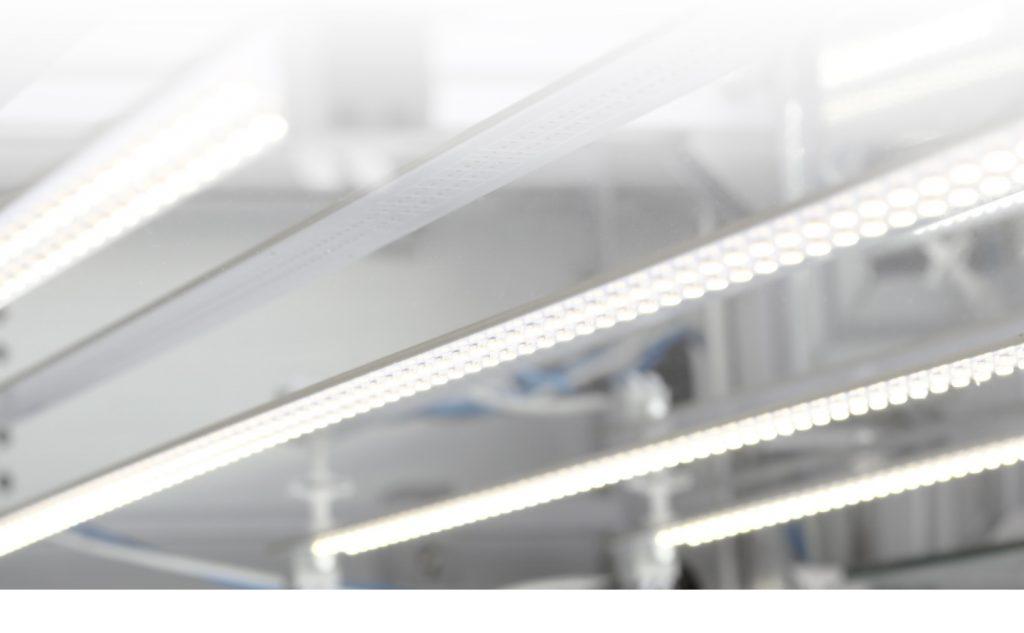 Système d'éclairage LED photo packshot