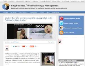 Conseils e-commerce sur le blog packshotcreator