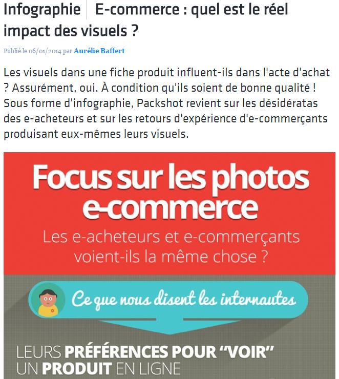 Quel impact pour les photos site e-commerce