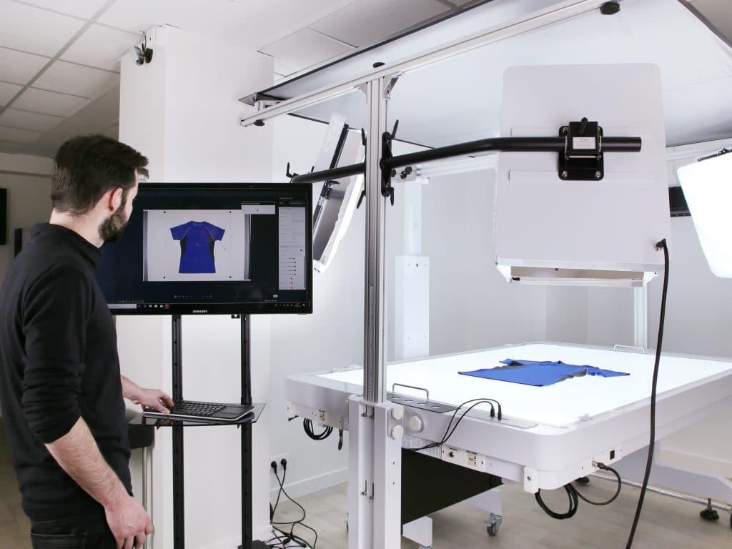 studio photo automatisé pour la photographie de produits pour des sites de e-commerce