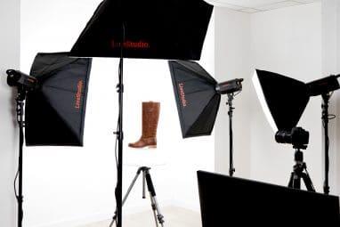 photo studio chaussure e-commerce