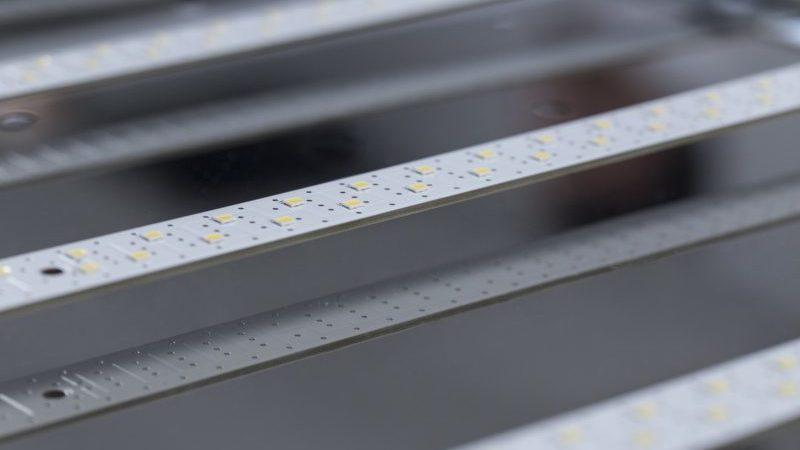 zoom sur le système LED permettant un éclairage excellent