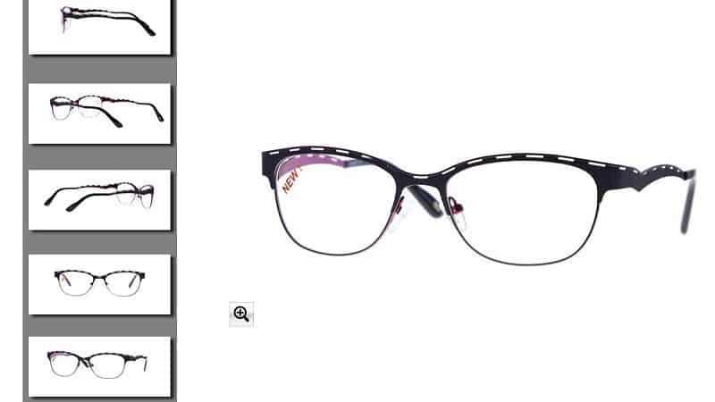 comment afficher des photos de lunettes sur les magasins en ligne