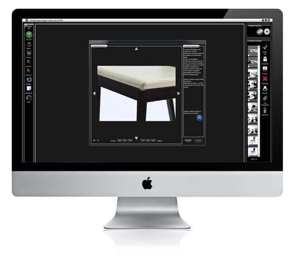 logiciel permettant de recadrer une photo de meuble
