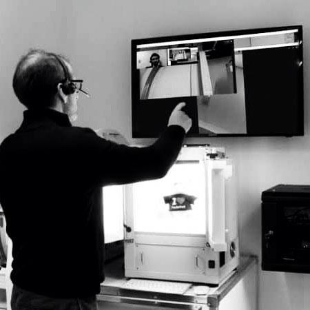 implémentation d'un studio photo à distance
