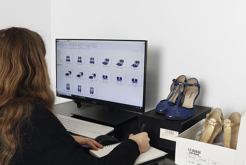 Définir un cahier des charges pour la nomenclature de photographies de chaussures
