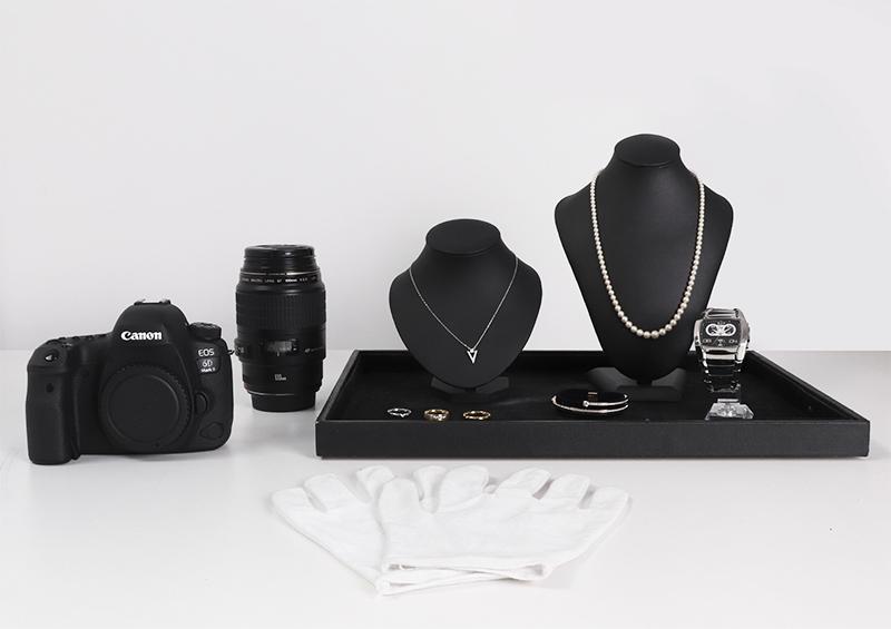 équipement photographie bijouterie